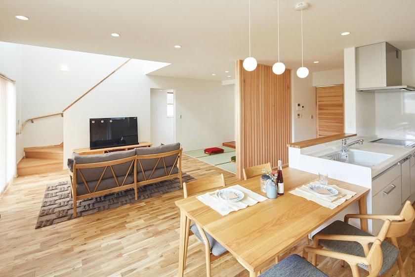 【富山】鷹栖建工株式会社_ 家中どこにいても快適温度で過ごせる。家事や子育てがしやすい家