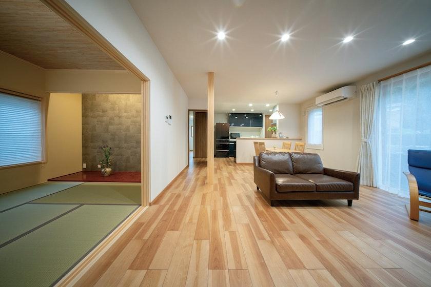 クリ英ター永和_伝統的な日本建築の美しさを追求