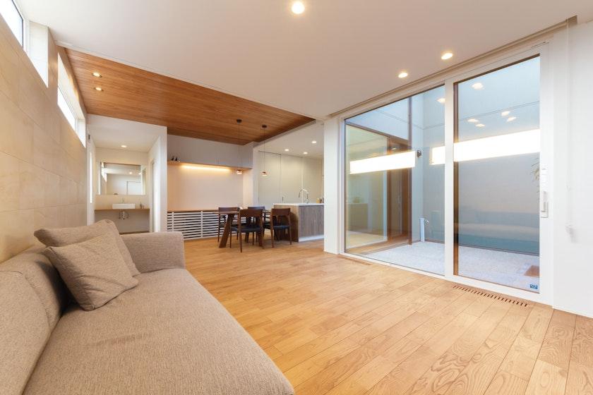 【富山】作造 富山営業所_生涯安心して暮らせる平屋のコートハウス