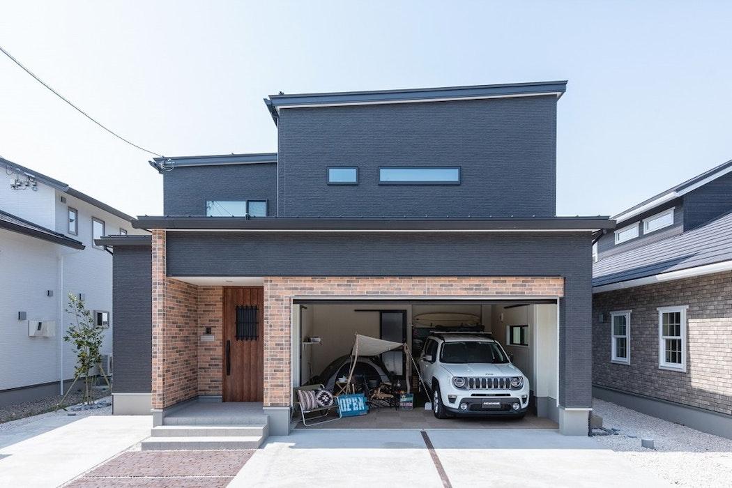 【富山】オスカーホーム_モデルハウス_インナーガレージ